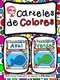 Carteles de Colores/ Spanish Color Posters