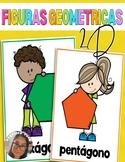 Carteles de Figuras Bidimensionales (2D Shapes posters)