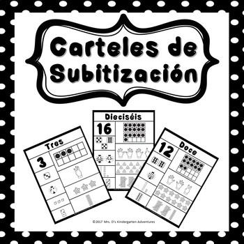 Carteles de Subitización