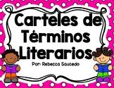 Carteles de Términos Literarios Spanish Literary Term Posters