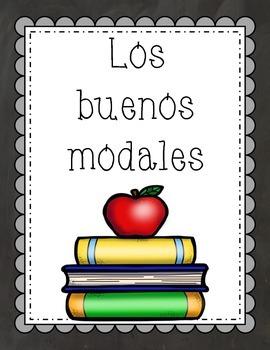 Carteles de buenos modales (Chalkboard) (Spanish)