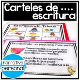 Carteles de escritura: narrativa personal en ingles y espanol