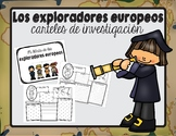 Carteles de investigación-exploradores / Explorer Research Posters in Spanish