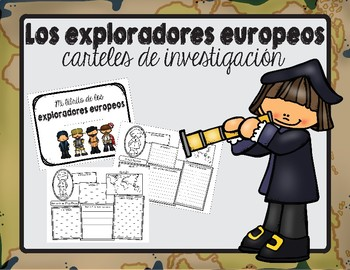 Carteles de investigación-exploradores / Explorer Research Posters in Spanish