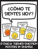 Carteles de las emociones / Emotions Posters in Spanish