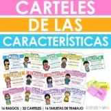 Carteles de los rasgos - Spanish Character Traits Posters