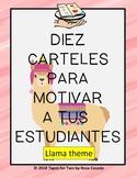 Carteles de motivacion LLAMA theme
