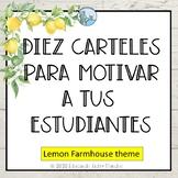 Carteles de motivacion Lemon Farmhouse Theme