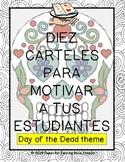 Carteles de motivacion DAY OF THE DEAD theme