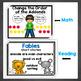 Carteles de primer grado: matematicas/escritura/gramatica/lectura