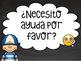 Carteles frases clase de español & Poster gratis