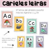 Carteles letras en español | Decoración de clase