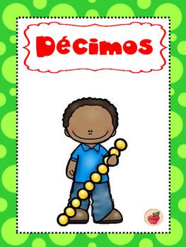 Carteles para identificación de decimales