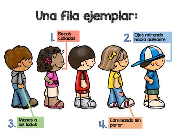 Carteles para la conducta (Bilingüe y Editable) / Bilingual Behavior Posters