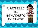Cartelli di Benvenuto in Classe - Classroom Welcome Sign i