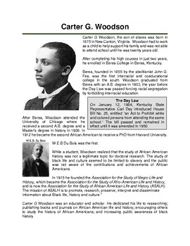 Carter G Woodson: Father of Black History