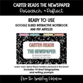 Carter Reads the Newspaper - Research & Reflect - PERFECT