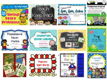 Carter Strong Bundle 2 Grades K-2
