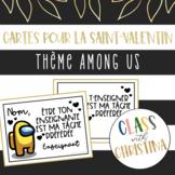 Cartes Among Us pour la Saint-Valentin