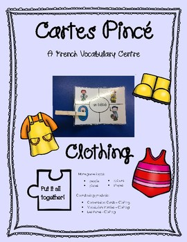 Cartes PInce - Clothing