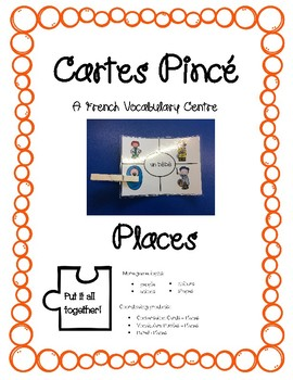 Cartes Pince - Places