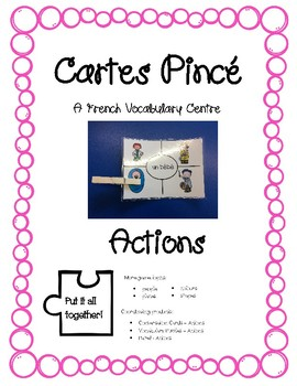 Cartes Pince - Actions