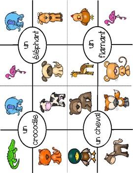Cartes Pince - Animals