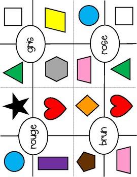 Cartes Pince - Colours
