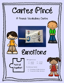 Cartes Pince - Emotions