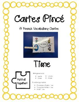 Cartes Pince - Time