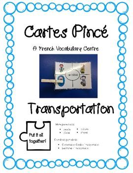 Cartes Pince - Transportation