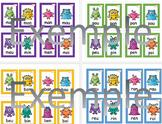 Cartes Syllabes complexes - 1ère année - Petits formats
