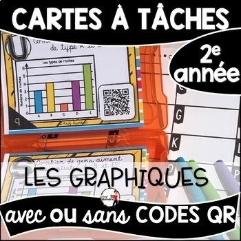 Cartes à Tâches CODES QR (L'ENSEMBLE COMPLET) - 384 French Task Cards - 2e année