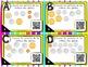 Cartes à Tâches CODES QR (La monnaie) - (1 ¢ à 2 $) - 2e année