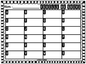 Cartes à Tâches CODES QR (Le nom propre) 1re année