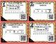 Cartes à Tâches CODES QR (Les Bonds) 1re année