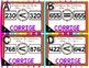 Cartes à Tâches CODES QR ( ou =) - 0 à 1000 - 2e année