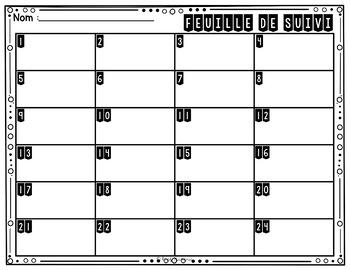 Cartes à Tâches CODES QR (Termes Manquants) 1re année