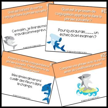 Cartes A Tache Le Conditionnel Present By Apprendre A Apprendre