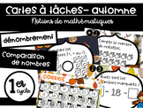 Cartes à tâches - 1er cycle - Mathématiques