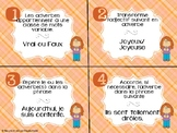 Cartes à tâches - 3e cycle - Adverbes