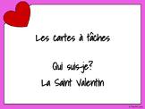 Cartes à tâches - La Saint Valentin