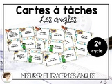 Cartes à tâches: Les angles