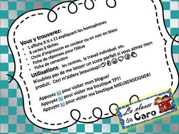 Cartes à tâches - Les homophones peu-peux-peut (French Task Cards)