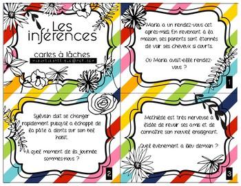 Cartes à tâches - Les inférences