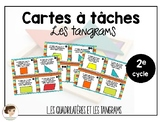 Cartes à tâches: Les tangrams