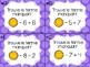Cartes à tâches - Les termes manquants (soustractions)