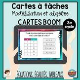 Cartes à tâches - Modélisation et algèbre - BOOM Learning