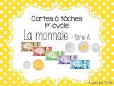 Cartes à tâches - Monnaie canadienne