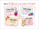 Cartes à tâches - Série Je fleuris une carte à la fois! (+